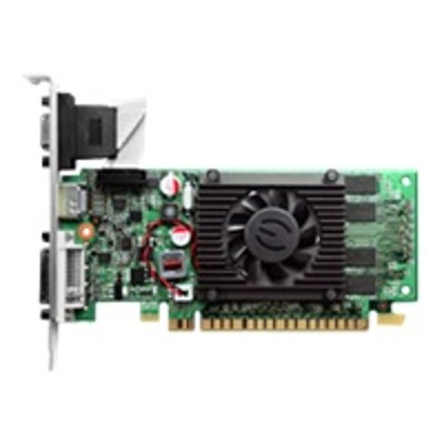 Evga 512-P3-1310-LR GeForce 210 - Graphics card - GF 210 - 512 MB DDR3 - PCIe 2.0 x16 - DVI  D-Sub  HDMI