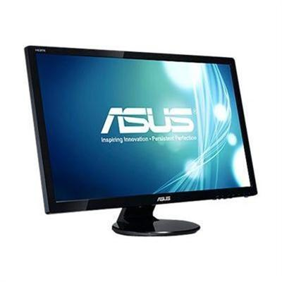 Discount Electronics On Sale ASUS VE278Q VE278Q - LCD monitor - 27 - 1920 x 1080 FullHD - 300 cd/m2 - 2 ms - HDMI DVI-D VGA DisplayPort - speakers - black