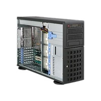 Super Micro CSE-745TQ-R920B Supermicro SC745 TQ-R920B - Tower - 4U - extended ATX - SATA/SAS - hot-swap 920 Watt - black - USB