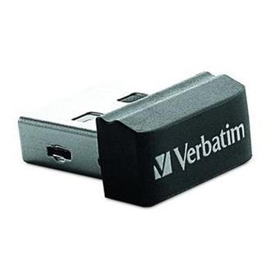 Verbatim 97464 Store 'n' Stay USB Drive - USB flash drive - 16 GB - USB 2.0 - black