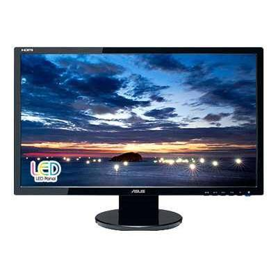 ASUS VE247H VE247H - LED monitor - 23.6 ( 23.6 viewable ) - 1920 x 1080 Full HD - 300 cd/m2 - 2 ms - HDMI DVI-D VGA - speakers - black ShopFest Money Saver