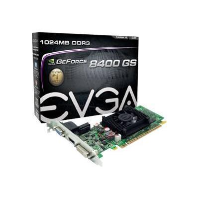 Evga 01g-p3-1302-lr Geforce 8400 Gs - Graphics Card - Gf 8400 Gs - 1 Gb Ddr3 - Pcie 2.0 X16 - Dvi  D-sub  Hdmi