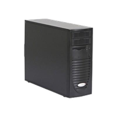 Super Micro CSE-733I-500B Supermicro SC733 i-500B - Mid tower - extended ATX 500 Watt - black - USB