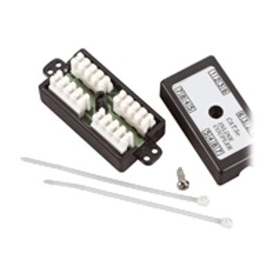 Black Box FAU964 CAT5e Hard Wire Coupler - Connecting block