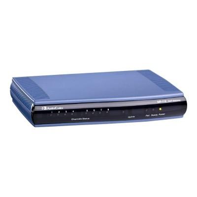 Audio Codes MP118/8S/SIP MediaPack Series MP-118 - VoIP gateway - 8 ports - 10Mb LAN  100Mb LAN