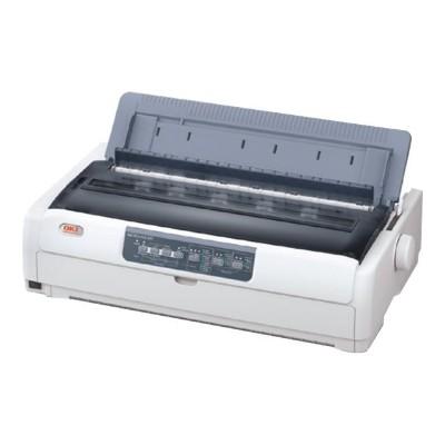 Oki 62434001 Microline 690 Monochrome Dot-Matrix Printer - Parallel  USB