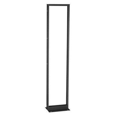 Black Box RM251A Premier Aluminum Distribution Rack 2 Post Rack 51U 19