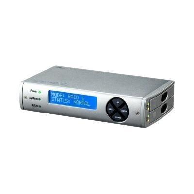 CRU-DataPort 36020-2510-0100 ataPort ToughTech Duo QR - Hard drive array - 2 bays ( SATA-150 ) - FireWire 800  USB 2.0  SATA 3Gb/s (external)