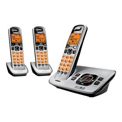 D1680-3 - cordless phone w/ call waiting caller ID & answering system