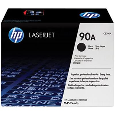 90A Black LaserJet Toner Cartridge with Smart Printing Technology