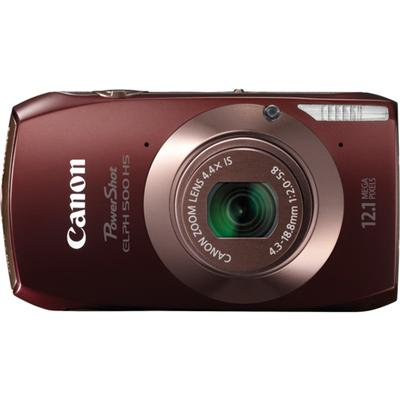 Experience an even more intuitive touch panel technology with the PowerShot ELPH 500 HS digital camera