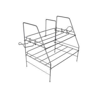 Atlantic 4550-6114 Game Keeper Game Depot Wire Gaming Rack - Stand for game console - steel wire - gloss silver - table-top