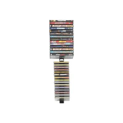 Atlantic 6273-5674 Media Stix - Media storage rack - capacity: 64 CD/DVD - black