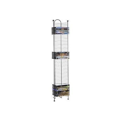 Atlantic 6371-2035 Nestable - Media storage rack - capacity: 52 CD/DVD - gunmetal