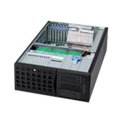 Super Micro CSE-745TQ-920B Supermicro SC745 TQ-920B - Tower - 4U - extended ATX - SATA/SAS - hot-swap 920 Watt - black - USB