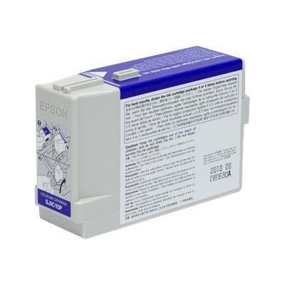Epson C33S020464 SJIC15P - Color (cyan  magenta  yellow) - original - ink cartridge - for  TM-C3400-LT  TM C3400  C610