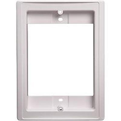 NuTone NF300DWH Door Speaker Retrofit Frame - White