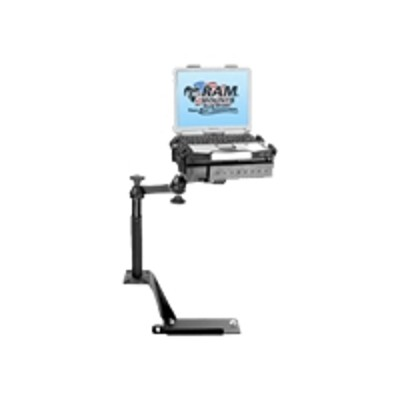 RAM Mounts RAM-VB-112-SW1 No Drill Vehicle Laptop Mount Stand for Ford Explorer (2002-Newer) Ford Explorer Sport Trac (2007) Mercury Mountaineer (2002-Newer)