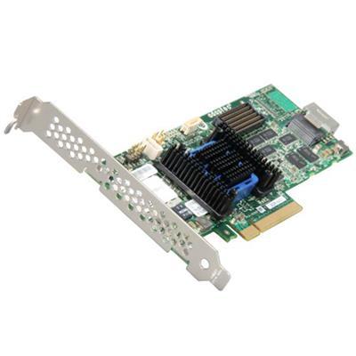 Adaptec 2271100 R RAID 6405 Storage controller RAID 4 Channel SATA 6Gb s SAS 6Gb s low profile 600 MBps RAID 0 1 5 6 10 50 JBOD 1E 5EE 60
