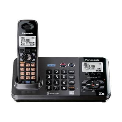 KX TG9381T - cordless phone - answering system with caller ID/call waiting