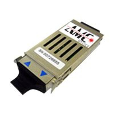 Approved Memory WS G5487 AMC AMC Optics GBIC transceiver module equivalent to Cisco WS G5487 Gigabit Ethernet 1000Base ZX SC single mode for Cisco