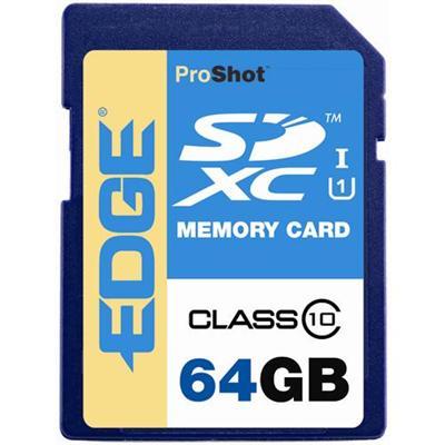 Edge Memory PE229061 64GB Proshot SDXC Class 10 Uhs-1 Memory Card