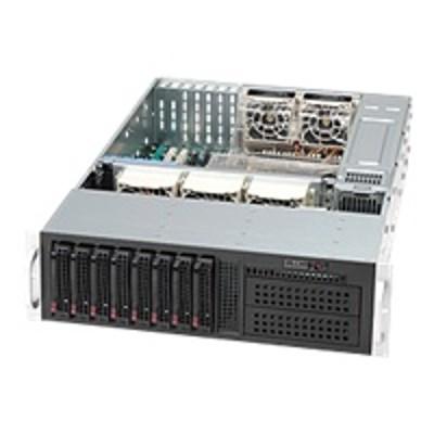 Super Micro CSE 835TQ R920B Supermicro SC835 TQ R920B Rack mountable 3U enhanced extended ATX SATA SAS hot swap 920 Watt black