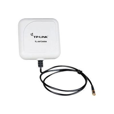 TP-Link TL-ANT2409A TL-ANT2409A - Antenna - pole mountable  wall mountable - indoor  outdoor - 802.11 b/g - 9 dBi - directional