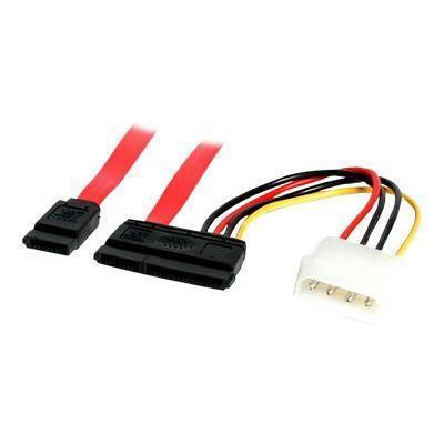StarTech.com SATA6POW 6in SATA Serial ATA Data and Power Combo Cable