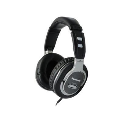 Panasonic RP-HTF600-S DJ Style Headphone - Black