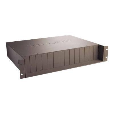 TP Link TL MC1400 TL MC1400 Modular expansion base 2U rack mountable