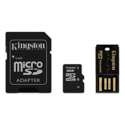 Kingston Digital MBLY10G2/8GB 8GB Class 10 Multi Kit / Mobility Kit