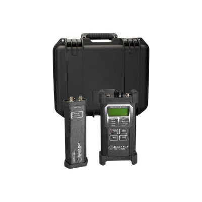 Black Box TS1300A Fiber Optic Power Meter and Led Source
