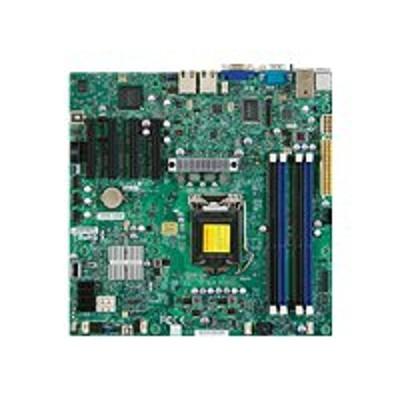 Super Micro MBD-X9SCM-F-O SUPERMICRO X9SCM-F - Motherboard - micro ATX - LGA1155 Socket - C204 - 2 x Gigabit LAN - onboard graphics