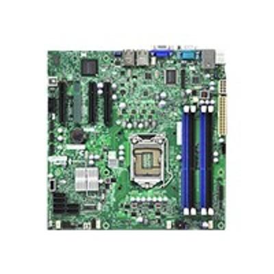 Super Micro MBD-X9SCL-O SUPERMICRO X9SCL - Motherboard - micro ATX - LGA1155 Socket - C202 - 2 x Gigabit LAN - onboard graphics