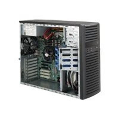 Super Micro CSE-732D4-865B Supermicro SC732 D4-865B - Mid tower - extended ATX 865 Watt - black - USB/Audio
