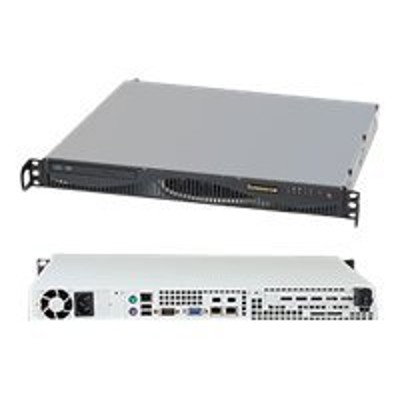 Super Micro SYS-5017C-MF Supermicro SuperServer 5017C-MF - Server - rack-mountable - 1U - 1-way - RAM 0 MB - no HDD - Nuvoton WPCM450RA0BX - GigE - monitor: non
