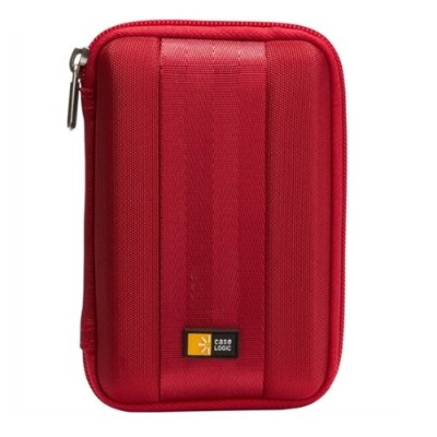 Case Logic QHDC-101RED Portable Hard Drive Case - Red