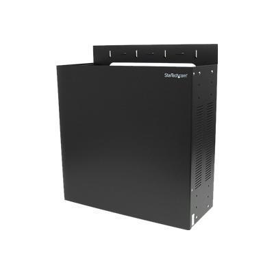 StarTech.com RK419WALVO Wall Mount Server Rack 4U Vertical Mounting Rack for Servers Rack wall mountable black 4U 19