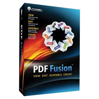Corel CPDFF1ENMB PDF Fusion - 1 User DVD Mini-Box