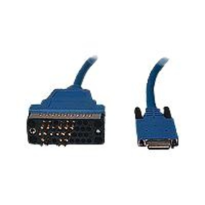 Cisco CAB-SS-V35MT V.35 cable (DTE) - Smart Serial (M) to M/34 (V.35) (M) - 10 ft - blue - for P/N: WIC-2T