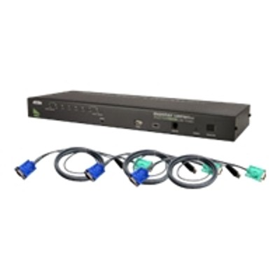 Aten Technology CS1708AUKIT CS1708AUKIT - KVM / USB switch - USB - 8 x KVM / USB - desktop
