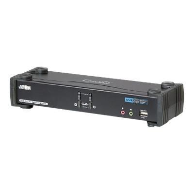 Aten Technology CS1782A CubiQ CS1782A - KVM / audio switch - USB - 2 x KVM / audio - 1 local user - desktop