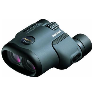 Pentax Imaging 62216 Papilio - Binoculars 8.5 X 21 - Porro - Black  Dark Gray