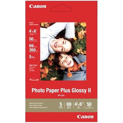 Canon 2311B022 PP-201 Photo Paper Plus Glossy II - 50 sheets