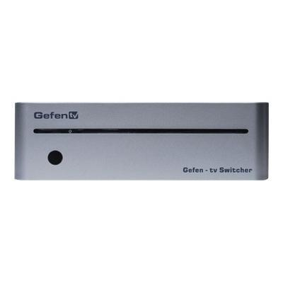 Gefen GTV-HDMI1.3-441N TV 4x1 Switcher for HDMI with RS232 - Video/audio switch - 4 x HDMI - desktop - DC power