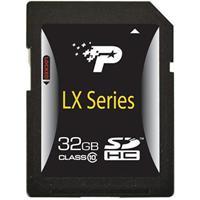 Patriot Memory LX Series 32GB Class 10 SDHC Flash Memory Card