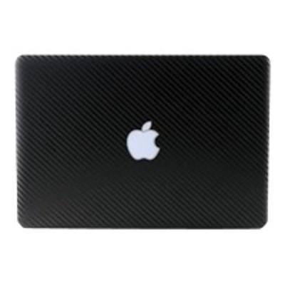 NLU Products NL-TCF7-0211 BodyGuardZ Armor Carbon Fiber Full Body - Notebook protective film kit - black - for Apple MacBook Pro (17 in)