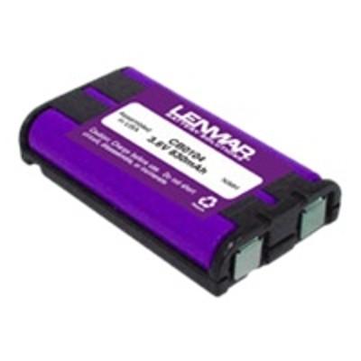 Lenmar CB0104 CB0104 - Phone battery NiMH 830 mAh - for Panasonic KX-TG2388  TG5438  TG5621  TG5822  TGA551  TGA650  TH102  TH111  TH112  THA19