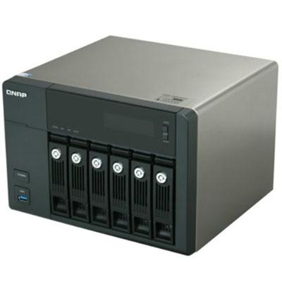 QNAP TS-659-PROII-US QNAP Turbo Diskless Network Attached Storage